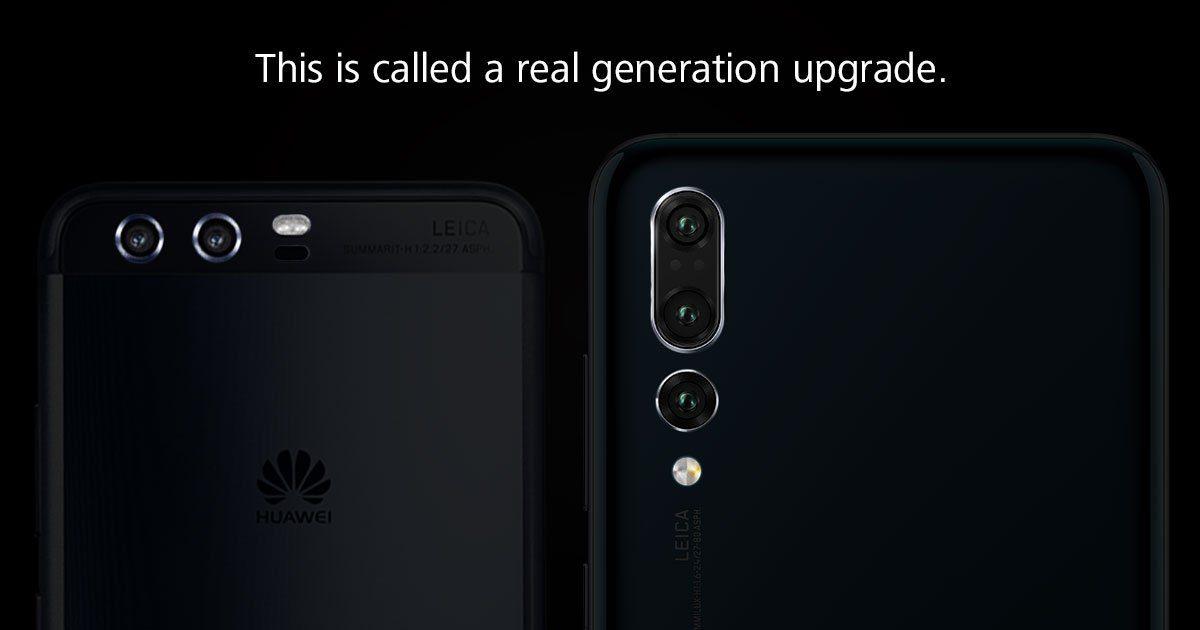 Η Huawei τρολάρει την Samsung για τις μικρές αναβαθμίσεις του Note9