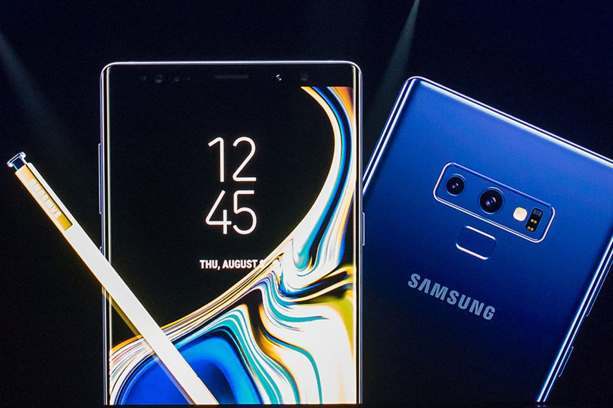 Samsung Galaxy Note 9: The Evolution