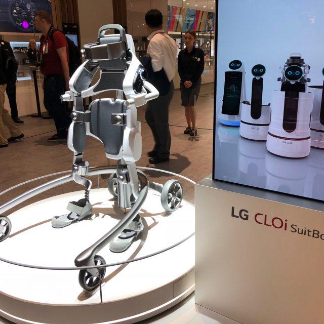 LG CLOi SuitBot: O εξωσκελετός της LG που σε κάνει Robocop!
