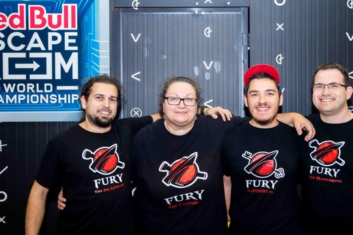 """Οι """"Fury"""" ετοιμάζουν βαλίτσες για τον Παγκόσμιο Τελικό του Red Bull Escape Room"""