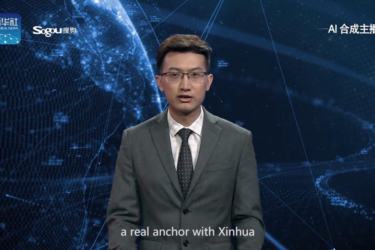 Virtual δημοσιογράφος λέει τις ειδήσεις στην Κίνα. Επόμενο βήμα ο Στέφανος Χίος!