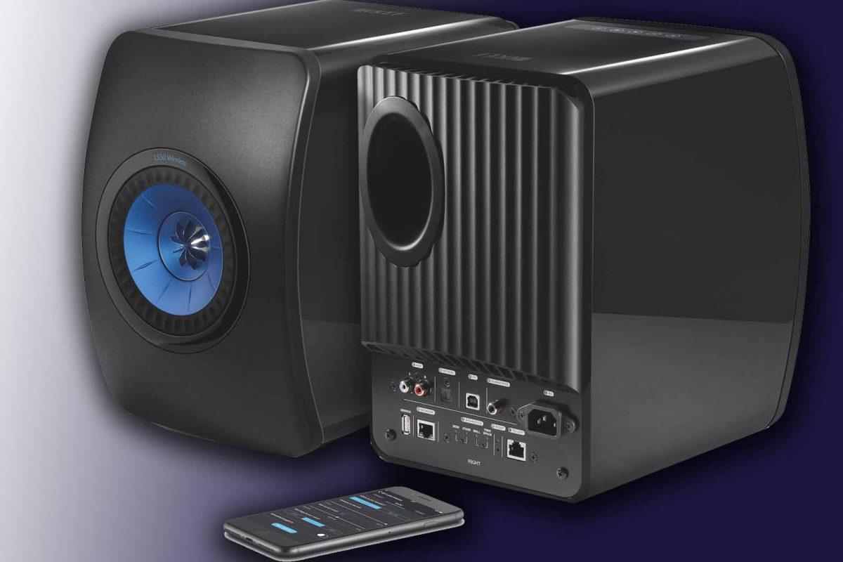 KEF LS50 Wireless: Τα ασύρματα ηχεία στα καλύτερά τους