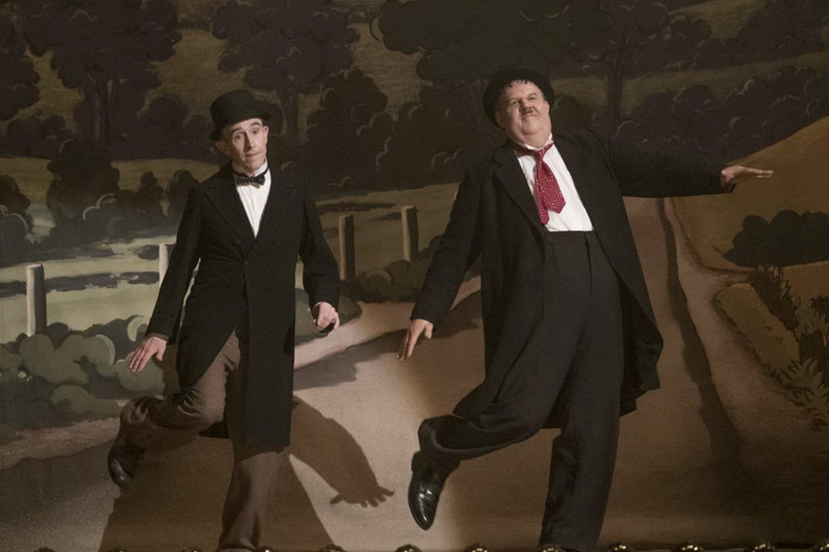 ΧΟΝΤΡΟΣ ΚΑΙ ΛΙΓΝΟΣ (Stan & Ollie) | No 1 Άνοιγμα στο Box Office του Λονδίνου