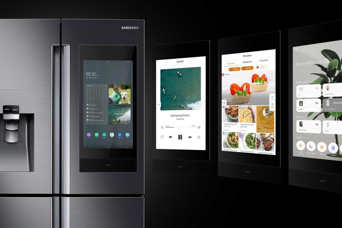H Samsung Θέτει Νέα Πρότυπα Συνδεσιμότητας στη CES 2019  με το Ψυγείο Family Hub