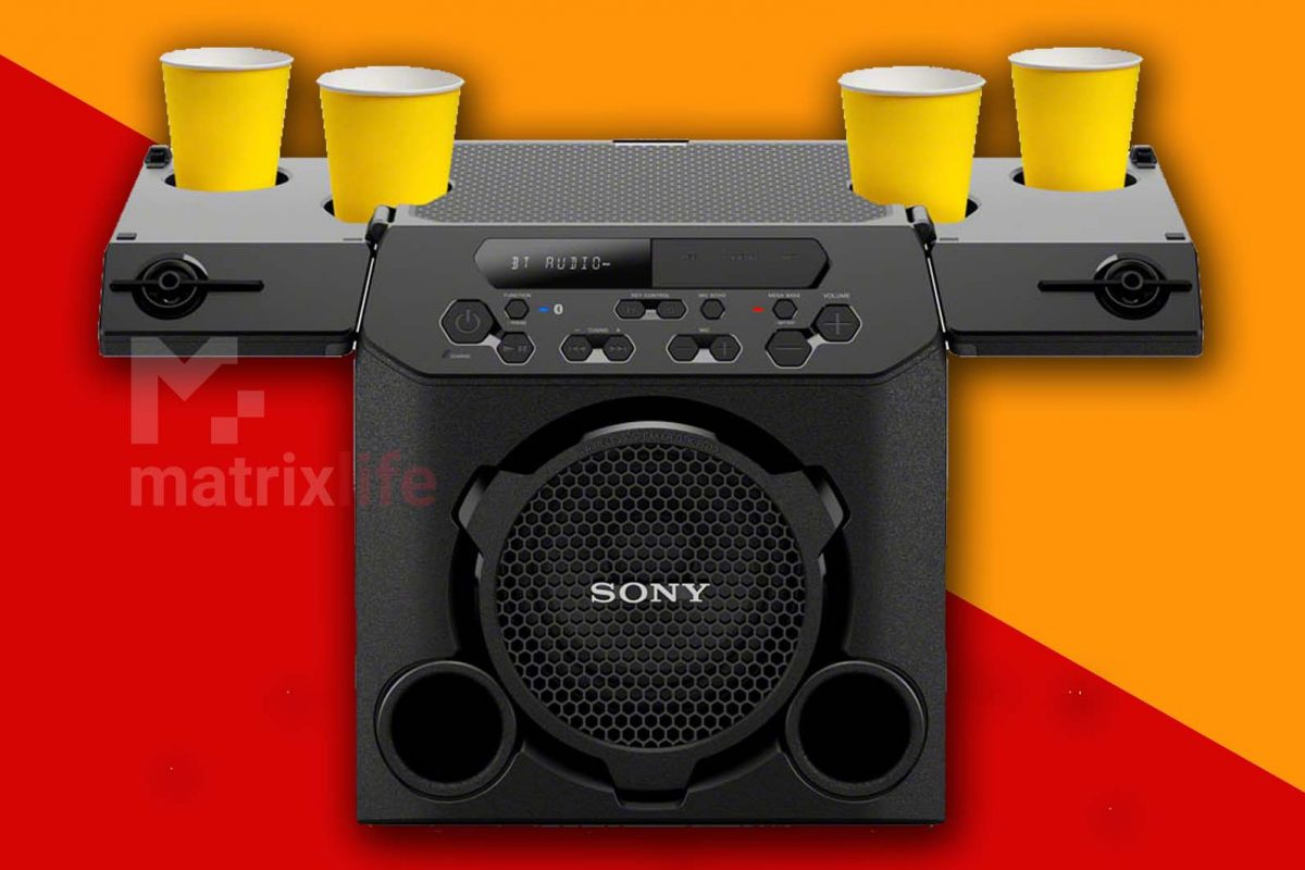 Sony GTK-PG10: The Beer music machine!