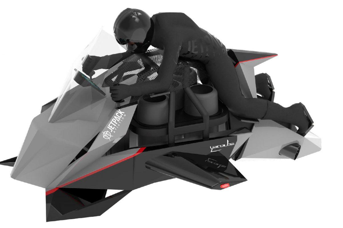 Οι προ-παραγγελίες για την πρώτη ιπτάμενη μοτοσικλέτα ξεκίνησαν και ναι το κόστος είναι υψηλό….