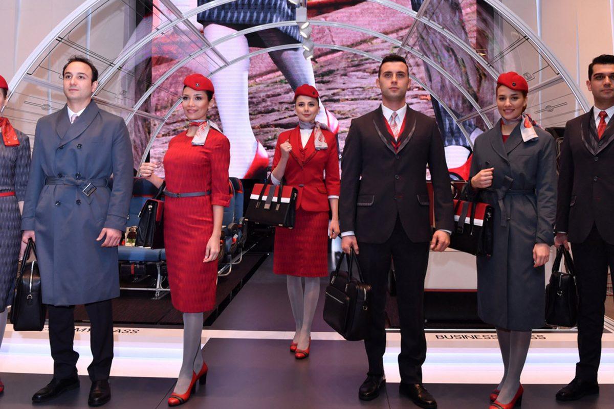 Η Turkish Airlines παρουσίασε τις νέες στολές πληρώματος καμπίνας στην ITB Berlin.
