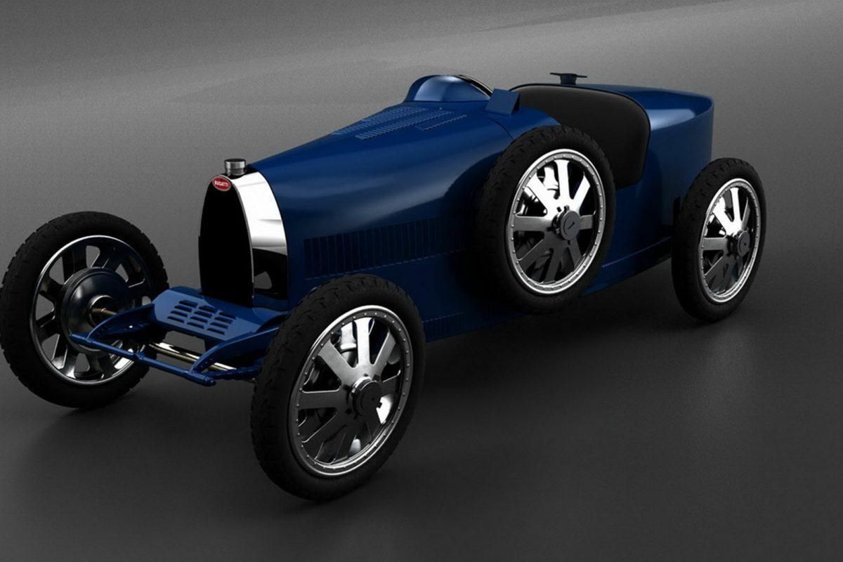 Bugatti Baby II: Ηλεκτροκίνητη, μοναδική και με κόστος μόλις 30.000 ευρώ!