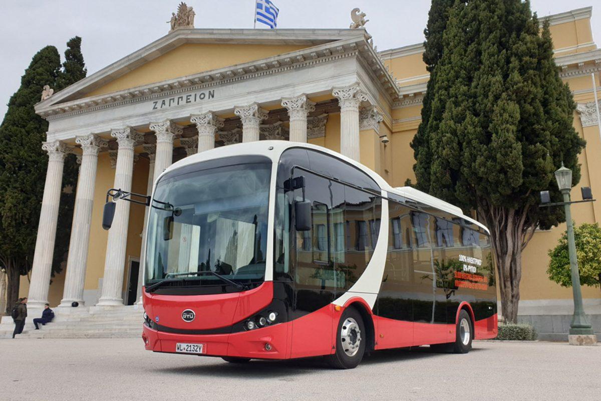 Το πρώτο Ηλεκτρικό Λεωφορείο της Αθήνας είναι γεγονός και υπόσχεται αθόρυβη, πράσινη και άνετη μετακίνηση!