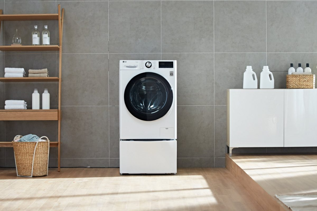 LG InnoFest 2019: Νέο πλυντήριο ρούχων μπροστινής φόρτωσης για αναβαθμισμένη φροντίδα στα ρούχα