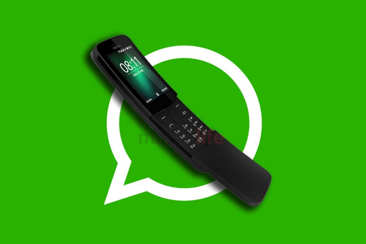 Το Nokia 8110 καλωσορίζει το WhatsApp! Διαθέσιμο και στην Ελλάδα