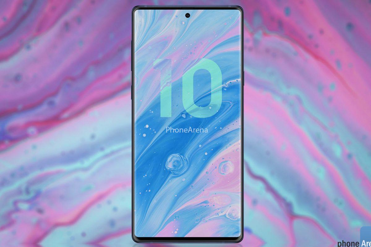 Αυτή είναι η σχεδίαση του πολυαναμενόμενου Samsung Galaxy Note 10