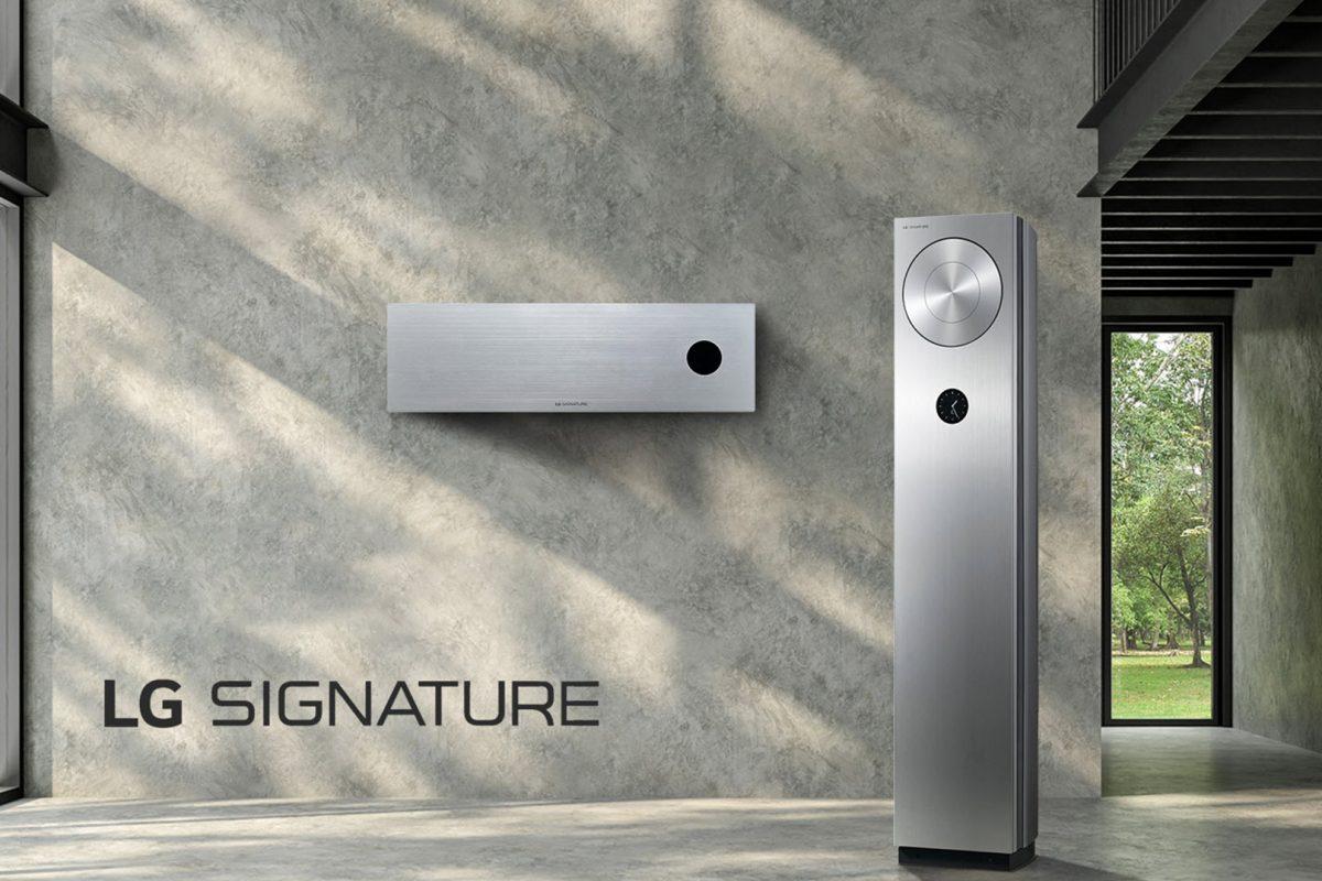 Η LG αποκαλύπτει τα νέα κλιματιστικά LG Signature που εναρμονίζονται με όλες τις εποχές