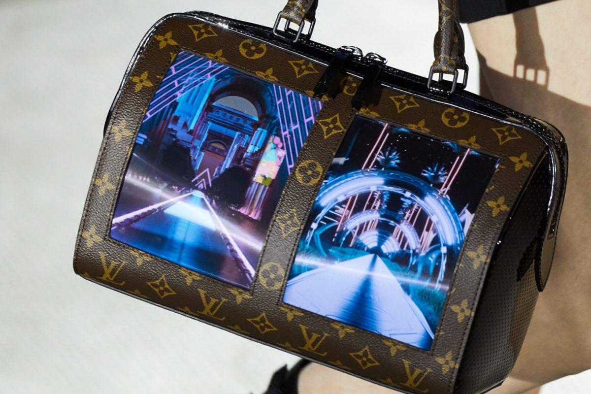 Η Louis Vuitton βάζει εύκαμπτες οθόνες επάνω στις τσάντες της!