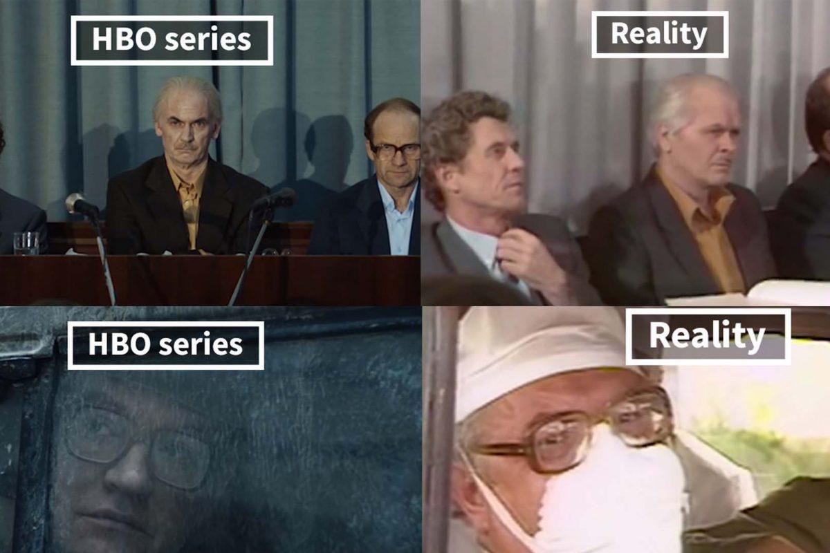 Πόσο πιστή με την πραγματικότητα είναι η σειρά Τσερνόμπιλ της HBO; Μια σύγκριση θα σας πείσει!