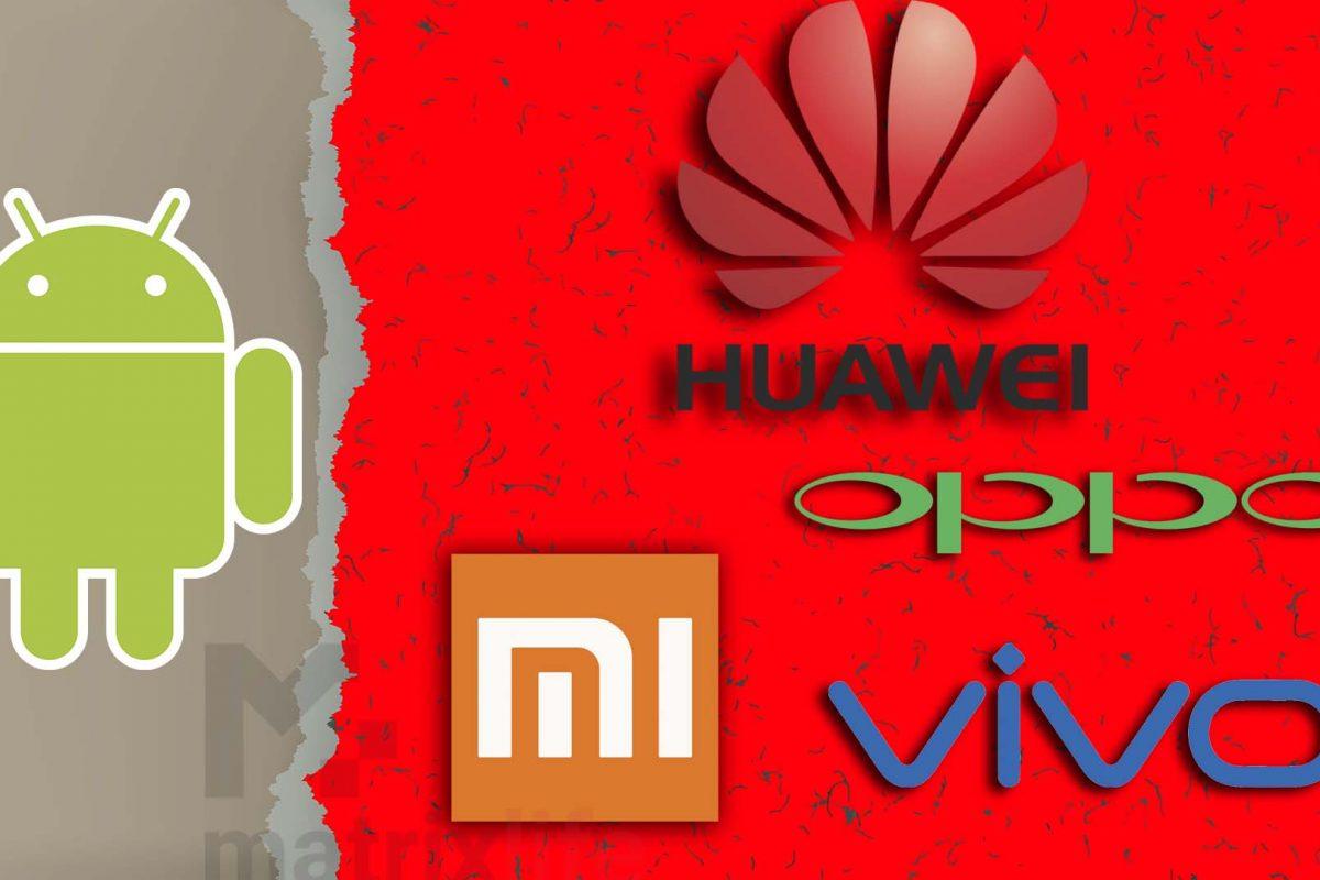 Xiaomi, Vivo, Oppo δοκιμάζουν ήδη το λειτουργικό της Huawei και οι φόβοι της Google επιβεβαιώνονται!