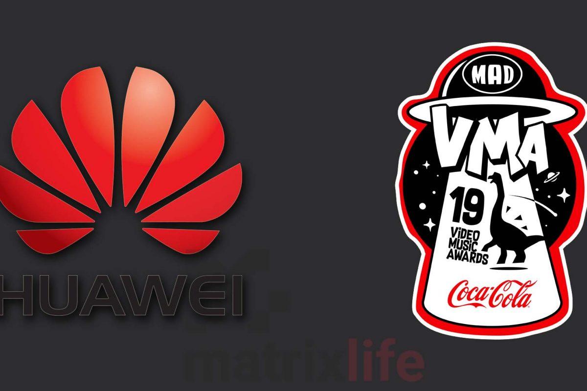 Η Huawei και φέτος υποστηρικτής των MAD Video Music Awards 2019 by Coca-Cola