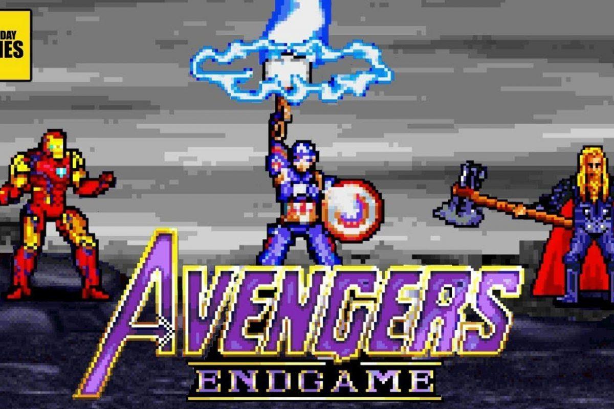 Avengers Endgame στα 16bit! Αξίζει να αφιερώσετε 5 λεπτά από την ζωή σας!