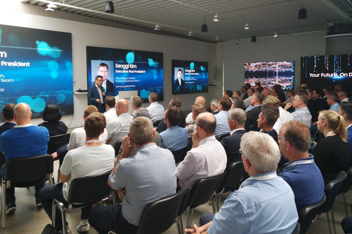 Samsung Discovery Day 2019 και MagicINFO Day: Οι καινοτομίες της Samsung έδωσαν το παρών στην Φρανκφούρτη