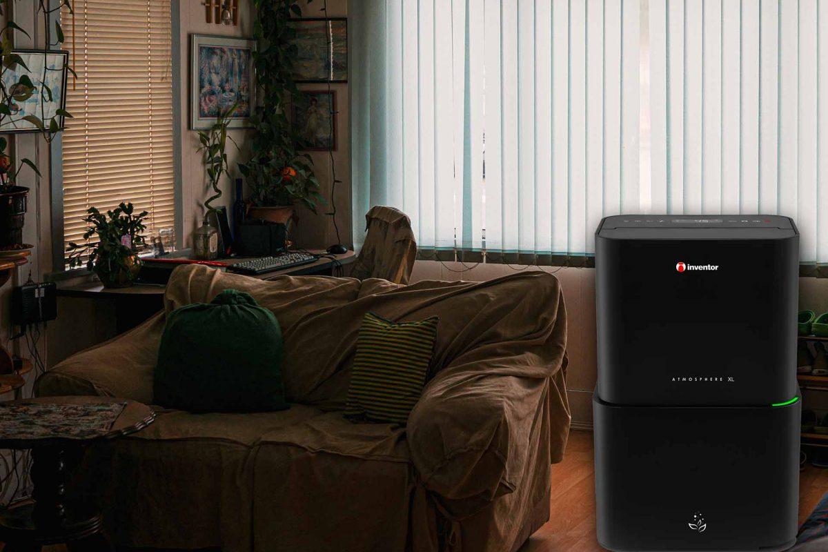 Inventor Atmosphere XL: Αφυγραντήρας, ιονιστής και καθαριστής αέρα για υγιεινή, καθαρή και ευχάριστη ατμόσφαιρα στο σπίτι!