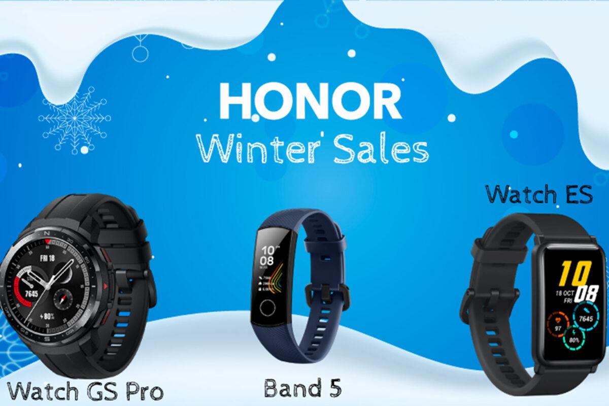 Honor: Χειμερινές προσφορές για να αποκτήσετε τα κορυφαία gadgets σε προσιτές τιμές!