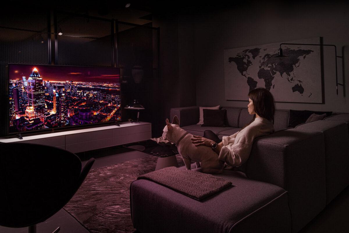 Οι τηλεοράσεις LG συναντούν τη σκανδιναβική αισθητική της BoConcept