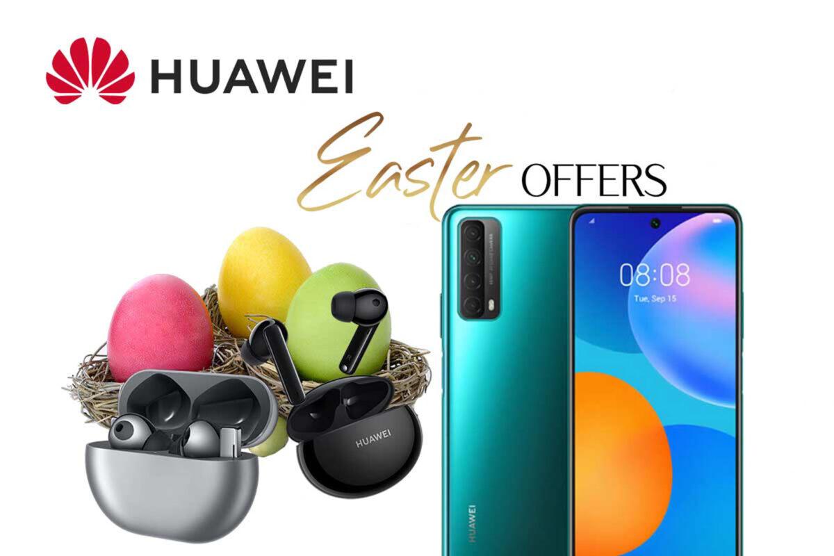 Huawei Easter Offers 2021: Πάσχα στο σπίτι, αλλά παρέα με τις καλύτερες προσφορές!