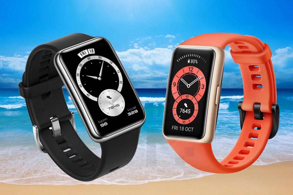Τα Huawei Band 6 και Huawei Watch Fit Elegant Edition είναι εδώ: προστασία της υγείας και φυσική άσκηση, με στυλ!