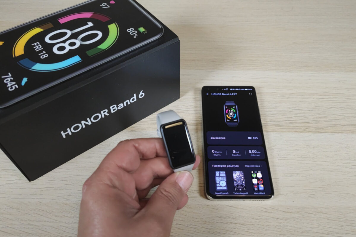 Honor Band 6 What's in the Box video: Μικρό smartwatch ή μεγάλο fitness band; Μάλλον και τα δύο!
