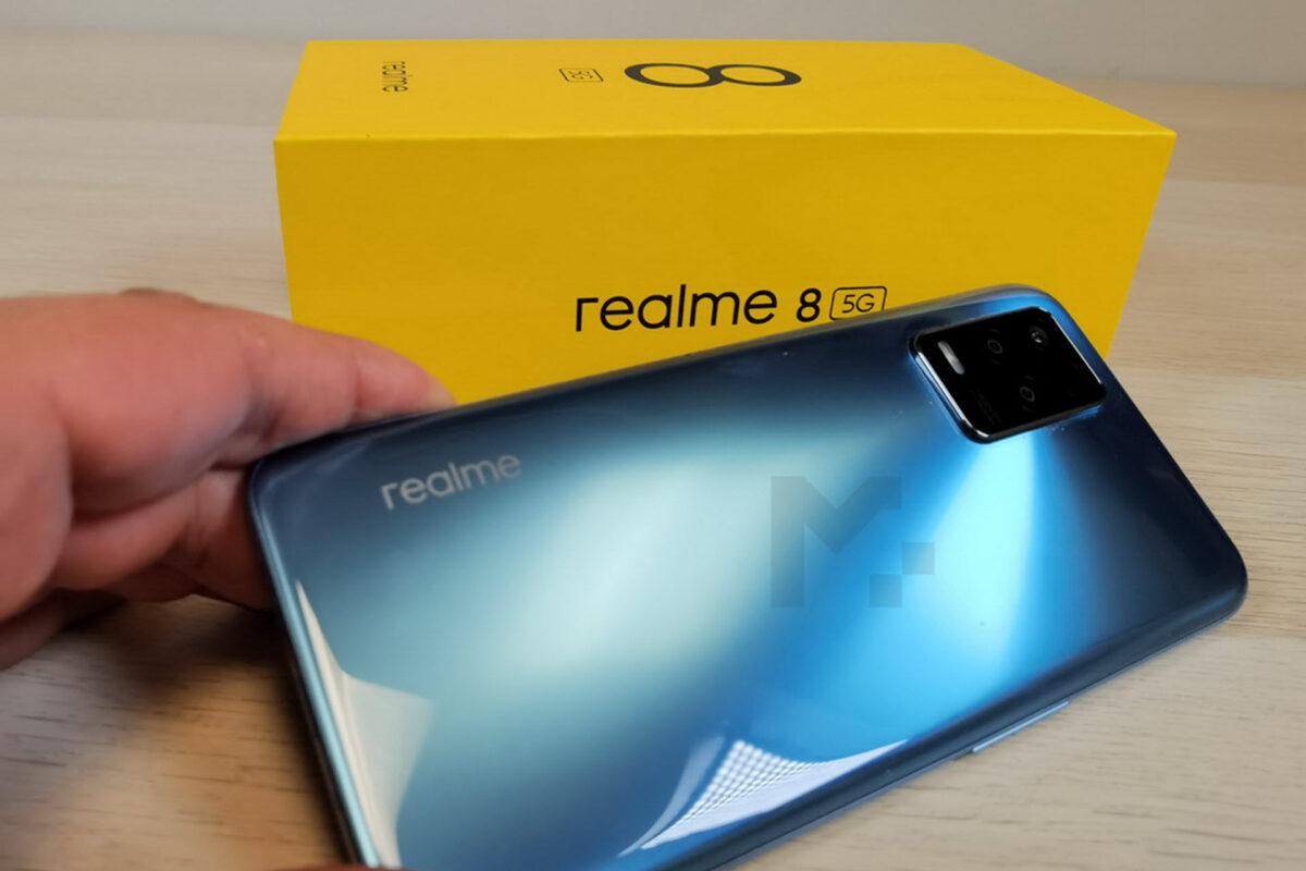 Realme 8 5G: Γοητεία, επιδόσεις και ταχύτητες 5G σε μια άκρως ελκυστική τιμή