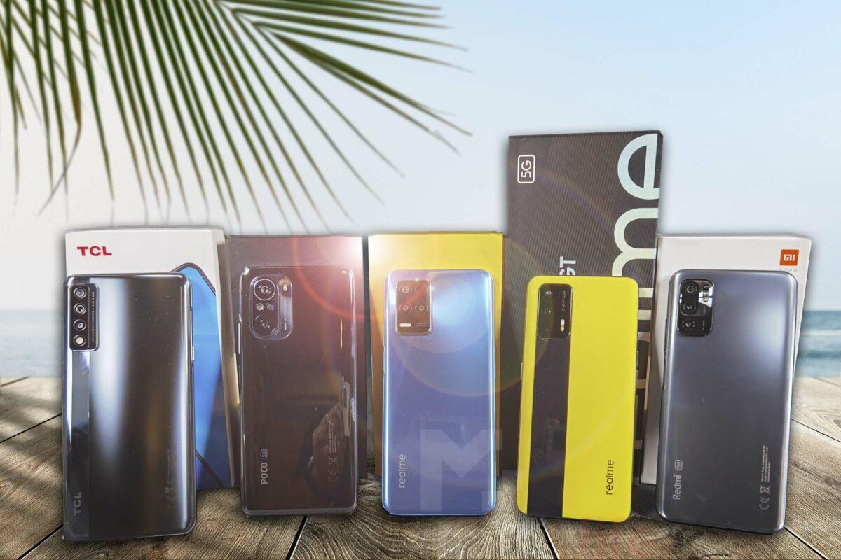 Summer Gadgets 2021: Αυτά είναι τα κορυφαία και πιο προσιτά 5G smartphones που μπορείς να βρεις στην αγορά σήμερα!