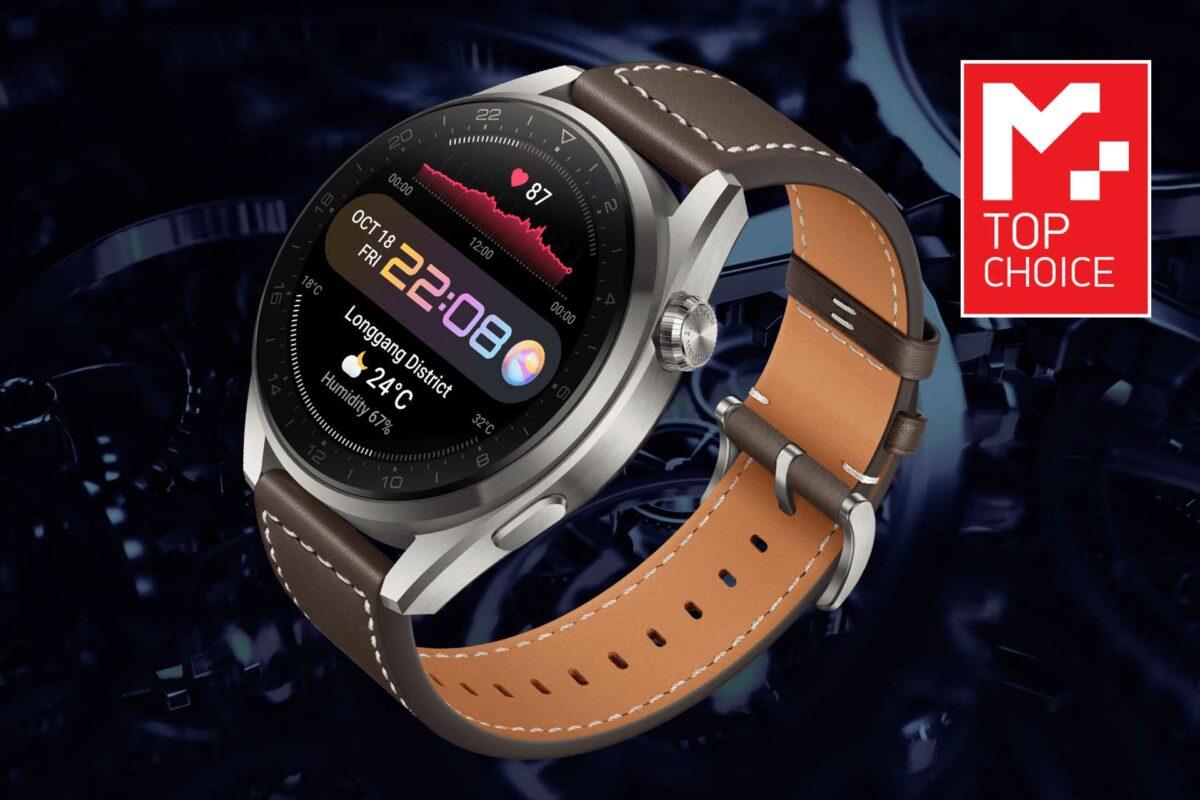 Huawei Watch 3 Pro: Αναλογική ομορφιά, Ελβετική ποιότητα και εξυπνάδα Harmony OS!