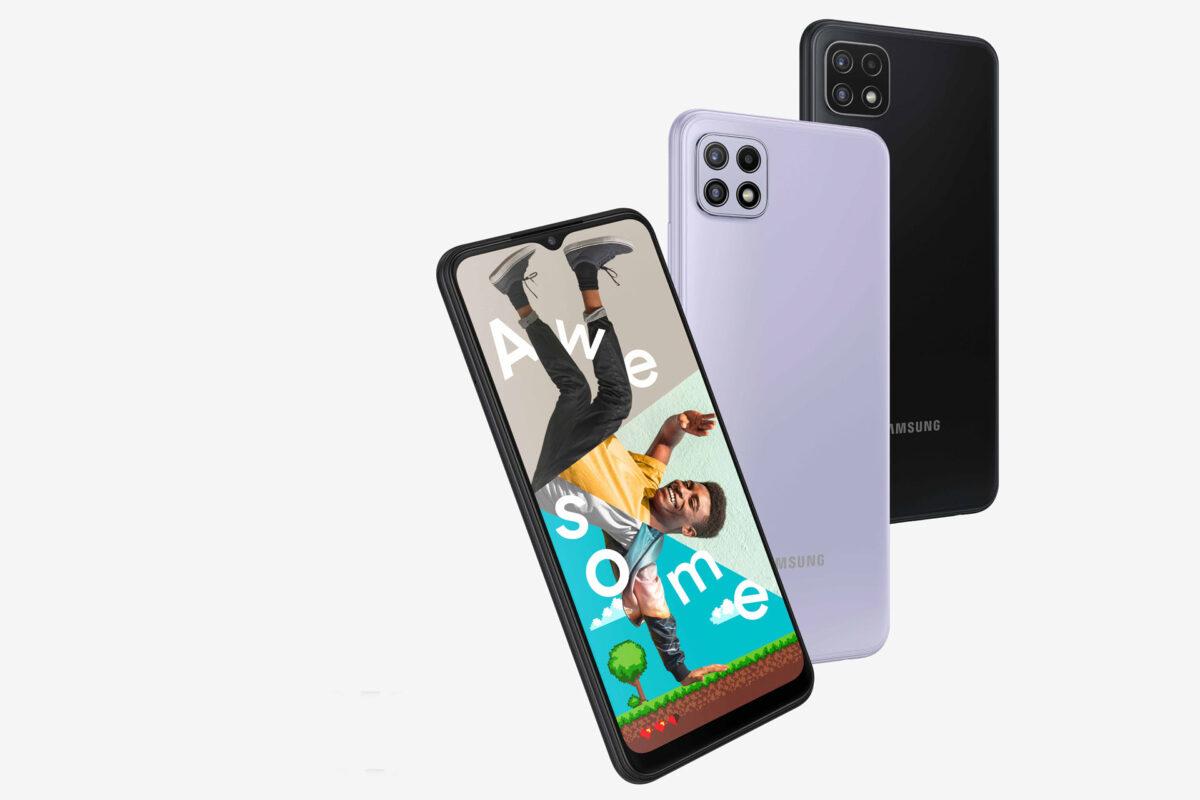 Η Samsung συνεχίζει να διευρύνει το χαρτοφυλάκιο 5G συσκευών της παρουσιάζοντας το Galaxy A22 5G
