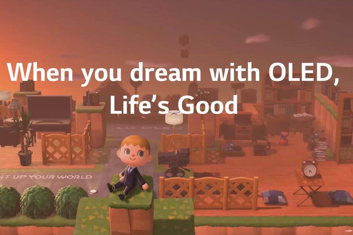 Η LG σας ταξιδεύει στον μαγικό κόσμο των OLED τηλεοράσεων μέσα από το Animal Crossing:New Horizons της Nintendo Switch