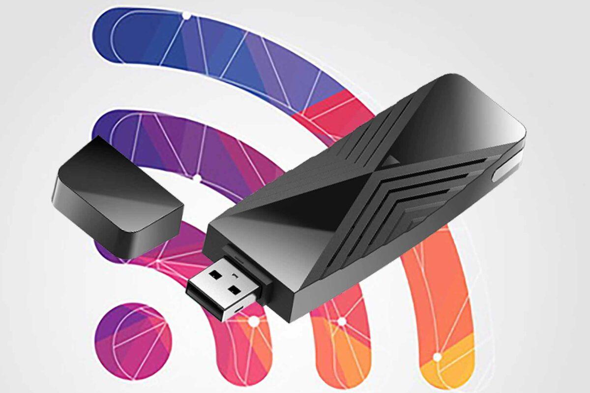 USB αντάπτορας AX1800 Wi-Fi 6 για ταχύτερη και ασφαλέστερη σύνδεση στο σπίτι και το γραφείο