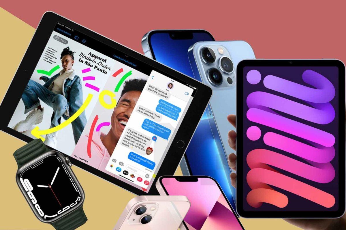 Tη νέα γενιά iPhone 13 Pro και iPhone 13 με ασύλληπτη ισχύ, το ολοκαίνουριο Apple Watch Series 7, καθώς και τα νέα iPad mini και iPad ένατης γενιάς παρουσίασε χθες η Apple.