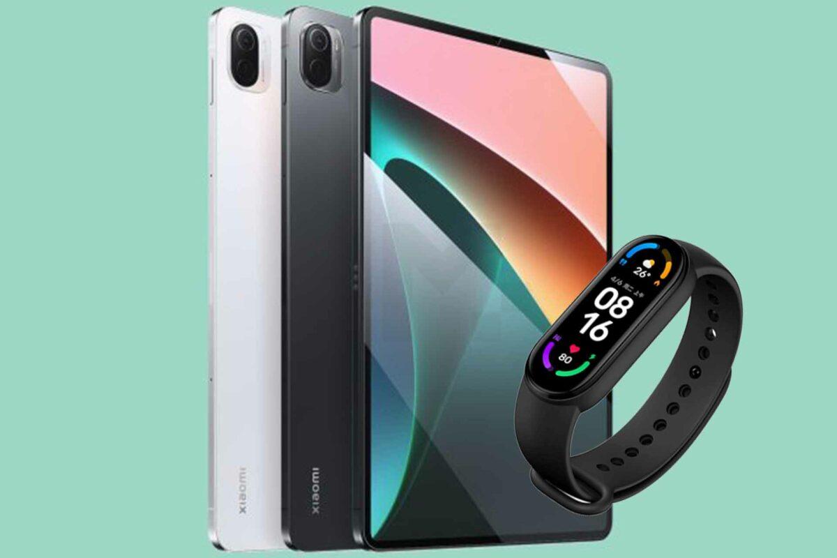 Xiaomi Pad 5 & Mi Smart Band 6 NFC: Δύο νέα gadgets για το οικοσύστημα της Xiaomi