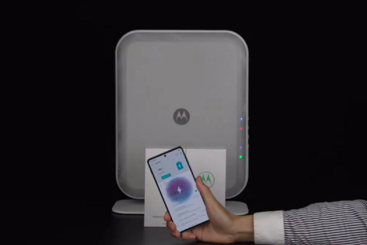 Space Charging: Ασύρματη φόρτιση over the air για 4 συσκευές ταυτόχρονα από την Motorola