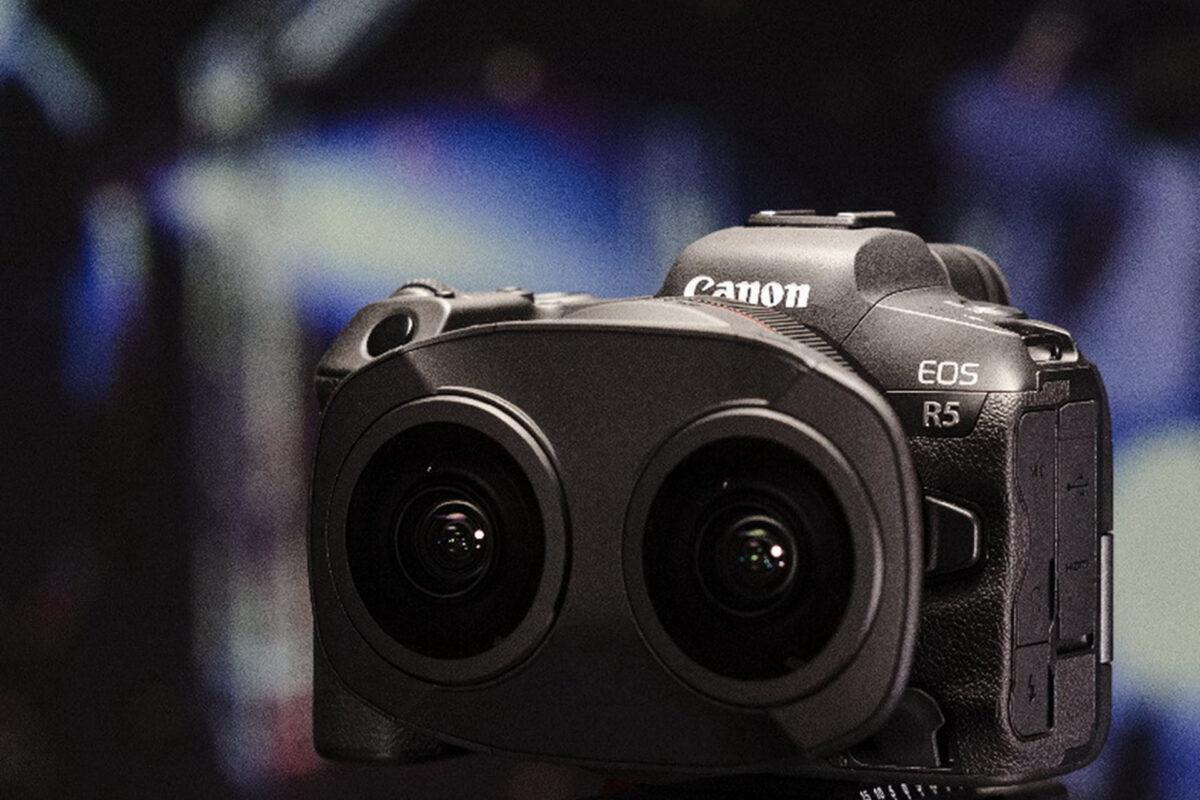 Η Canon φέρνει την επανάσταση στο 180° VR με το καινοτομικό της σύστημα 3D VR και τον φακό Canon RF 5.2mm F2.8L DUAL FISHEYE