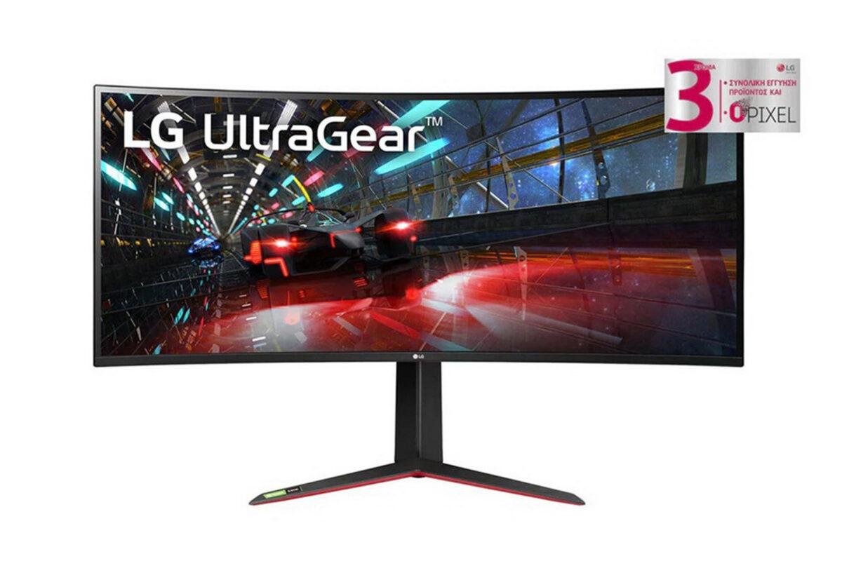 Αλλάξτε τους κανόνες του παιχνιδιού με το νέο LG UltraGear monitor 38GN950-B