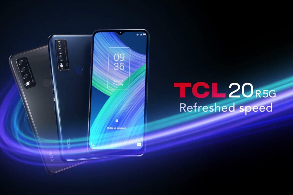 Απολαύστε ταχύτατο 5G με το εξαιρετικά προσιτό smartphone TCL 20 R 5G