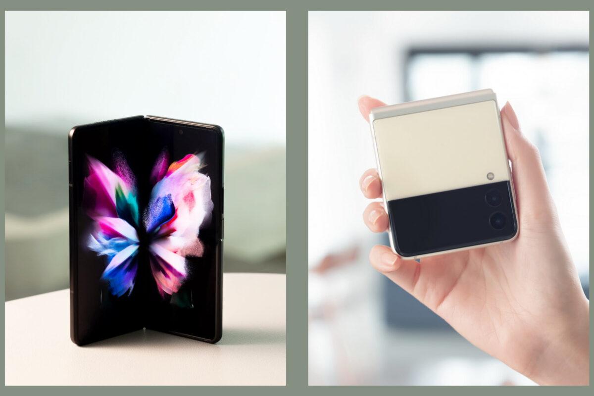 Samsung Galaxy Z Flip3 5G & Galaxy Z Fold3 5G: «ξεδιπλώνονται» μπροστά στα μάτια σου!